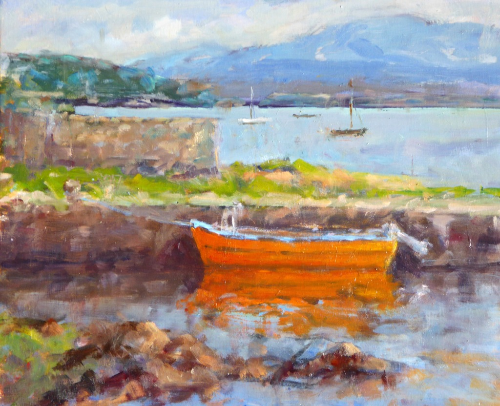 Back Harbour , Roundstone