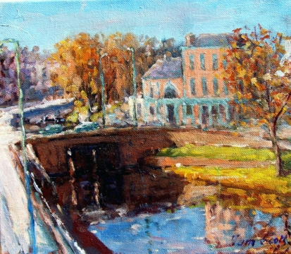 Autumn, Charlemont Bridge
