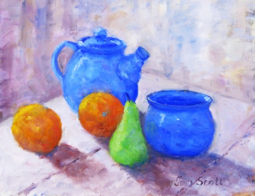 'Orange and Blue'